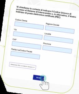 Come reperire i nuovi codici univoci della fatturazione B2B o l'indirizzo PEC