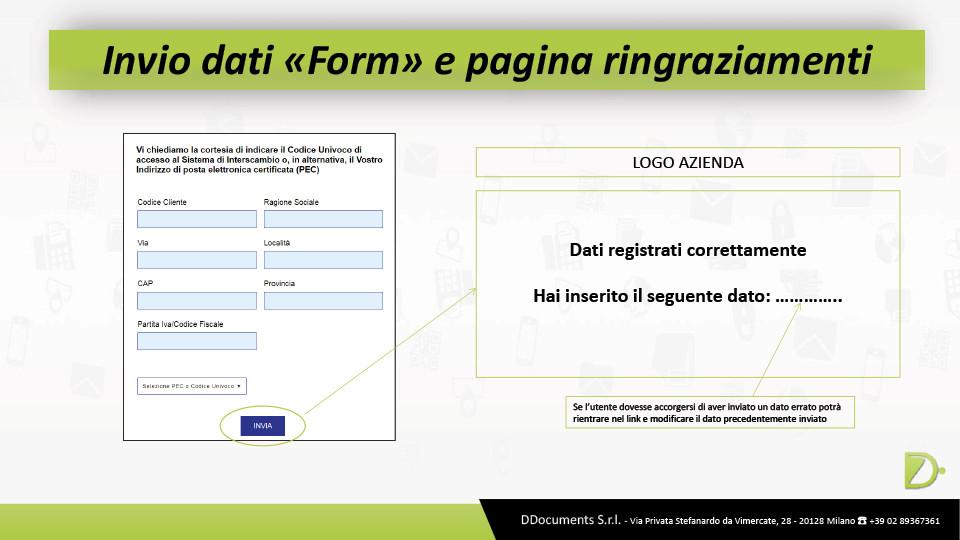 """Invio dati """"form"""" e pagina di ringraziamento"""