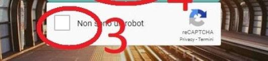 """Selezionare la voce """"Non sono un robot Login per accedere al servizio di fattura elettronica DDocuments"""