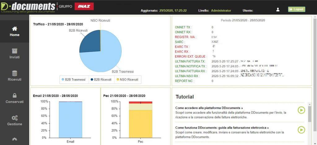 Aggiornamento del portale DDocuments